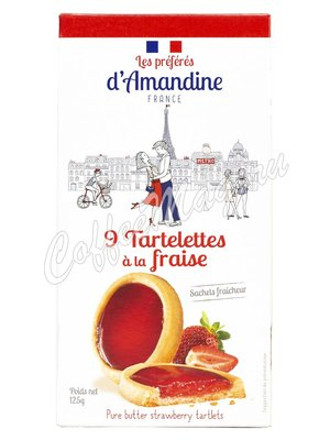 Les Preferes d`Amandine Тарталетки с лимоном 125 г