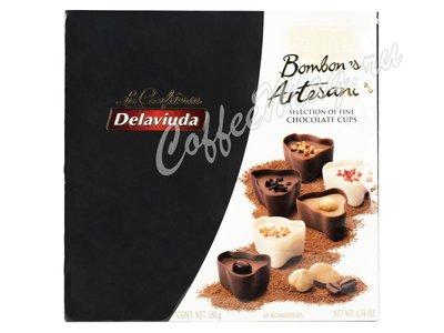 Delaviuda Шоколадные конфеты ассорти с пралине 180 г
