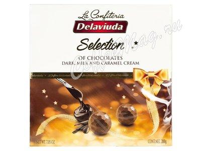 Delaviuda Шоколадные конфеты ассорти 200 гр