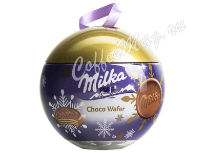 Milka Bubble Wafer Новогодние конфеты 180 г