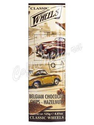 Шоколадные чипсы Classic Wheels с фундуком 125 гр