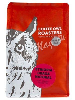 Кофе Owl в зернах Ethiopia Uraga Natural 200 гр