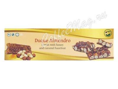 Duque Almendro Туррон Грильяж (Твердый) с фундуком и кунжутом 100 г