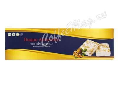 Duque Almendro Турон с грецкий орехом 100 г
