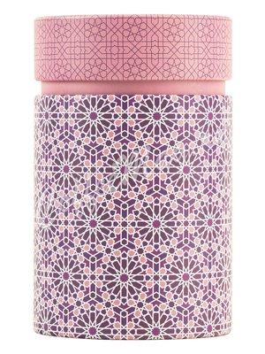 Банка для чая Андалусия Розовая, круглая 150 г