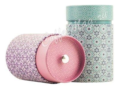 Банка для чая Андалусия Розовая, круглая 150 гр