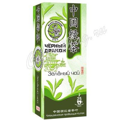 Чай Черный Дракон Зеленый чай в пакетиках 25х2г.