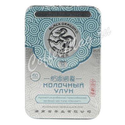 Чай Черный дракон Прессованный молочный улун 60 г.