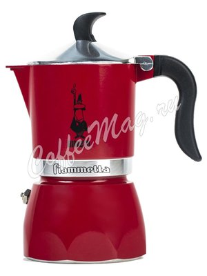 Гейзер Bialetti Fiametta Red 3 порции 120 мл (2019) 7073