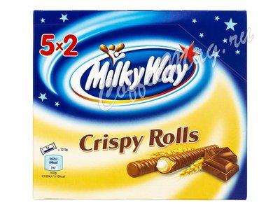 Батончики Milky Way Crispy Rolls 5x2