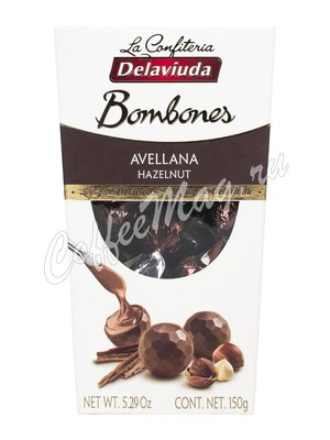 Delaviuda Шоколадные конфеты с пралине из фундука (Avellana) 150 гр