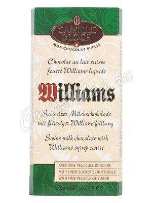 Camille Bloch. Молочный шоколад с грушевой водкой Williams 100 г