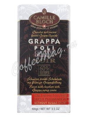 Camille Bloch. Горький шоколад с граппой 100 г