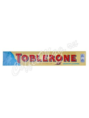 Шоколад Toblerone Crunchy Almonds 100 г