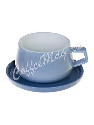 Viva Ella Чайная чашка с блюдцем 0,3 л (V79763) Голубой