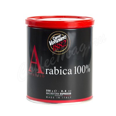 Кофе Vergnano Miscela 1882 Espresso TIN молотый 250 гр