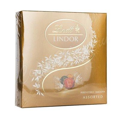 Шоколадные конфеты Lindt  Lindor  Ассорти 125 г