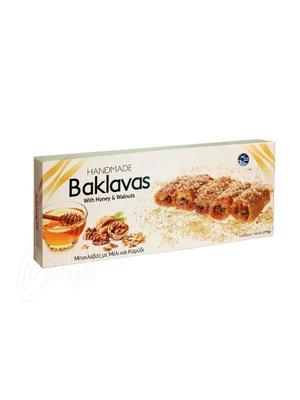 Греческая пахлава Minos с медом и грецкими орехами 175 гр