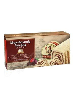 Халва Macedonian Halva с какао 400 г