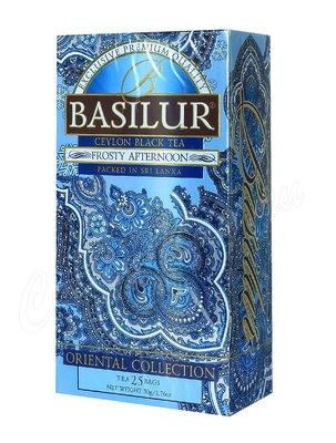 Чай Basilur ВОСТОЧНАЯ Морозный день 25 пак.