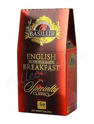Чай Basilur ИЗБРАННАЯ КЛАССИКА Английский завтрак 100 г