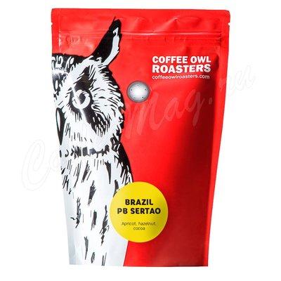 Кофе Owl в зернах Бразилия Сертао ПБ 200 г