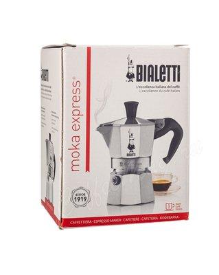 Гейзерная кофеварка Bialetti Moka Express 1 порция (1161)