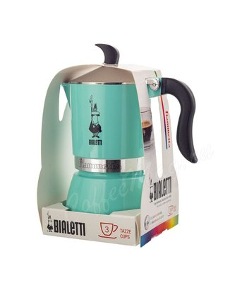 Гейзерная кофеварка Bialetti Fiametta Green на 3 чашки (7133)