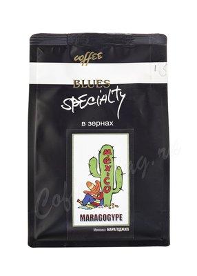 Кофе Блюз в зернах Марагоджип Мексика 200 г