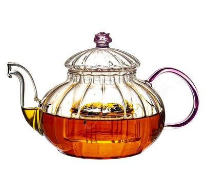 Чайник заварочный Чайная роза стекло  650 мл ПЧК
