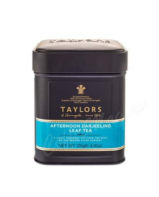 Чай Taylors of Harrogate листовой Afternoon Darjeeling Дарджилинг Полдник 125 г