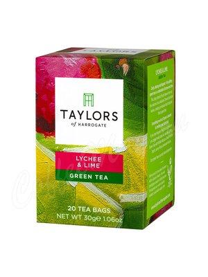 Чай Taylors of Harrogate пакетированный Личи и лайм 20 шт