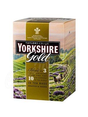 Чай Taylors Yorkshire Gold Золото Йоркшира черный 20 пак.