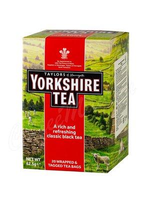 Чай Taylors Yorkshire Йоркшир черный 20 пак.