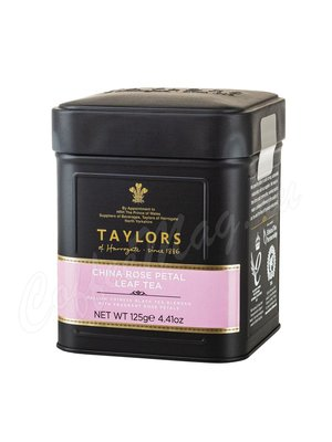 Чай Taylors of Harrogate листовой China Rose Petal Лепесток розы 125 г