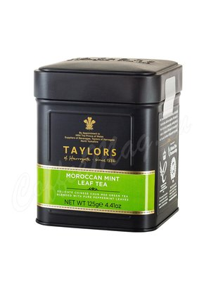 Чай Taylors of Harrogate листовой Moroccan Mint Марокканская мята 125 г