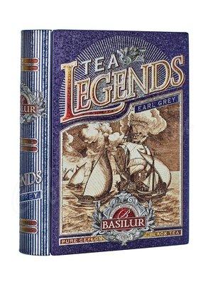 Чай Basilur Чайная книга Чайные легенды-Эрл Грей 100 г