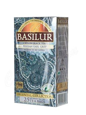 Чай Basilur Восточная Эрл Грей по Персидский черный в пакетиках 25 шт