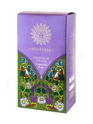 Чай Belvedere листовой Сокровища Альп травяной 100 г