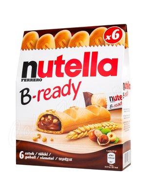 Nutella B-ready Печенье с шоколадной начинкой T6 132 г