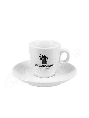 Чашка Hausbrandt эспрессо (Черная надпись)