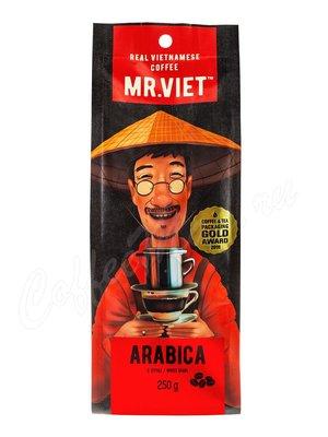 Кофе Mr Viet в зернах Арабика 250 гр