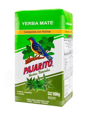 Чай Мате Йерба Pajarito Compuesta 500 г