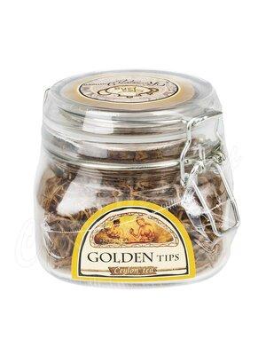 Чай Ти Тэнг Золотые типсы черный 50 г (Стеклянная банка)