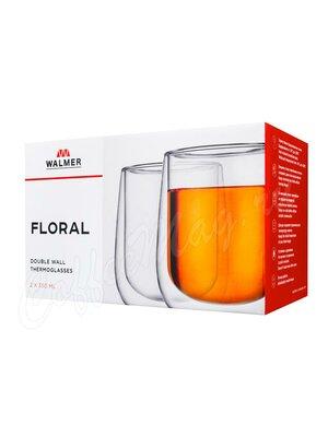 Набор  из 2-х термобокалов Walmer Floral 350 мл