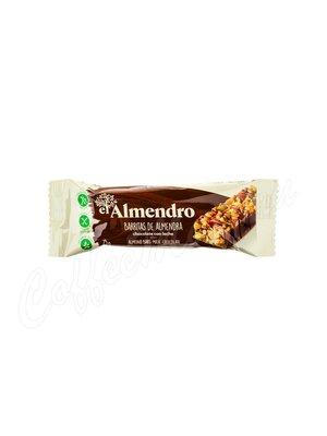 El Almendro Ореховый батончик из миндаля и фундука с молочным шоколадом 100 г