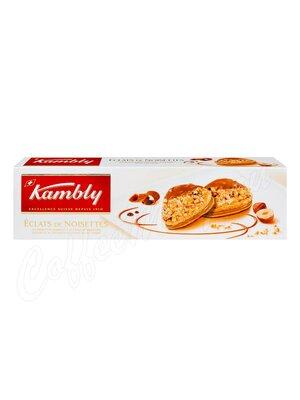 Kambly Печенье Eclats de Noisettes с кремом из фундука с шоколадом 100 г