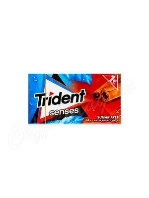 Жевательная резинка Trident Senses Корица-Мята