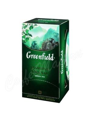 Чай Greenfield Jasmine Dream зеленый в пакетиках 25 шт.