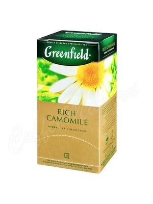 Чай Greenfield Rich Camomile травяной в пакетиках 25 шт.